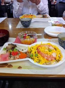 古墳ちらし寿司